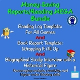 Report Projects and Reading Log MEGA Bundle