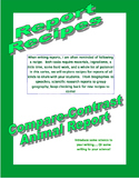 Report Recipes- Compare and Contrast Animal Report