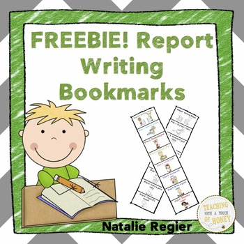 Report Writing Bookmarks FREEBIE!