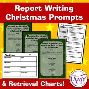 Report Writing Christmas Prompts