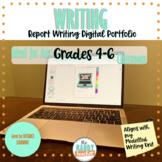 Report Writing Digital Portfolio Distance Learning