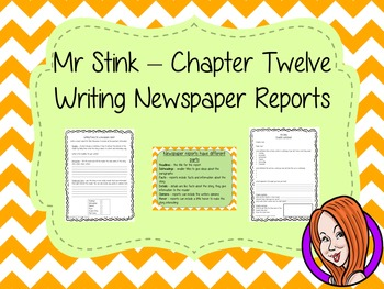Report Writing  – Mr Stink