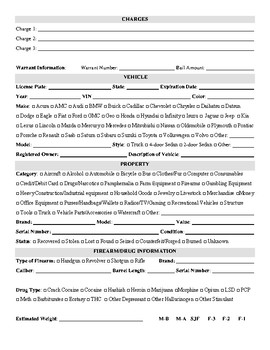 Report Writing Notes & Report Template