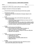 Report Writing Outline for SCIENCE (Alternate Energy Sources)