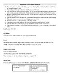 Report Writing Scenarios & Police Report Templates