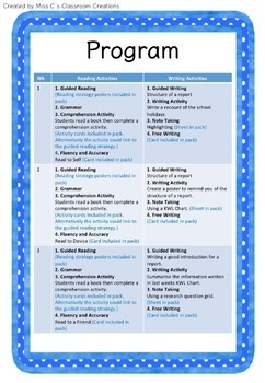 Report Writing and Note Taking Unit (Resources Included!)