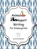 Report Writing for Kindergarten - 32 Animals