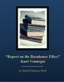 """Report on the Barnhouse Effect -- Kurt Vonnegut -- Short Story"