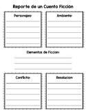 Reporte de un Cuento Ficción / Fiction Book Report [SPANISH]