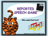 Reported Speech NO PREP Grammar Game