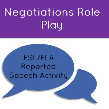 Reported Speech Negotiations