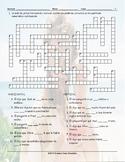 Reported Speech Spanish Spanish Crossword Puzzle