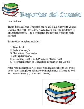 Reportes del Cuento, Book Reports