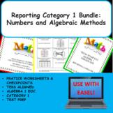 Reporting Category 1 Bundle: Numbers and Algebraic Methods - TEKS