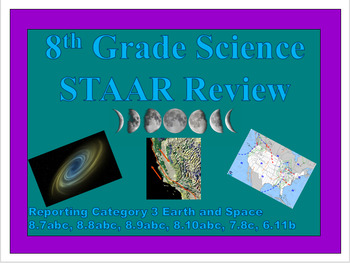 Reporting Category 3 Earth and Space STAAR Review