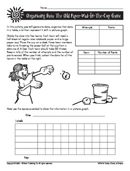 Reporting Data Observations (CCSS 6.SP.B.5a)