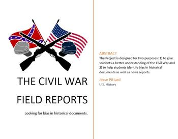 Reports from the Front: Civil War News Reports