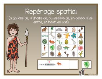 Repérage spatial (prépositions de lieux)