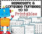 Represent & Compare Numbers to 10 (Go Math Ch. 4)