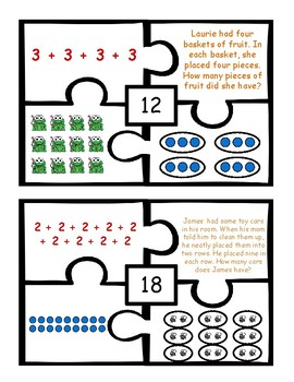 Represent Multiplication Puzzles