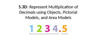 Represent Multiplication of Decimals (TEK 5.3D)