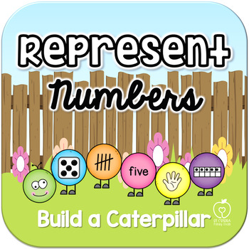 Represent Numbers 1-20 Math Center