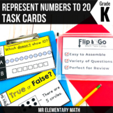 Represent Numbers to 20 - Kindergarten Math Tasks Cards