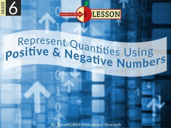 Represent Quantities Using Postitive and Negative Numbers