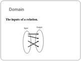 Represent Relations and Functions