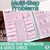 Represent & Solve Multi-Step Problems Interactive Notebook