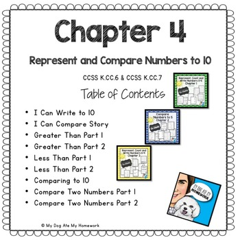 Represent and Compare Numbers to 10 Go Math