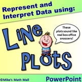 Represent and Interpret Data Using Line Plots (PowerPoint Only)
