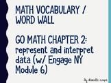 Represent and Interpret Data Vocabulary