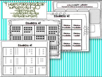Representando numeros a 20 -  actividades para Math in Focus