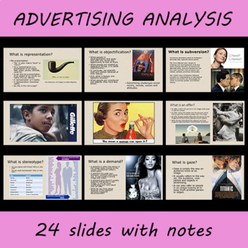 Representation in Advertising Powerpoint