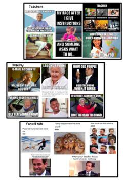 Representations in memes