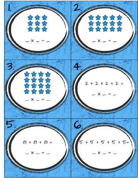 Representations of Multiplication Task Cards