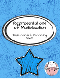 Representations of Multiplication Task Cards