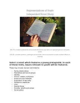 Representations of Youth Independent Reading Project