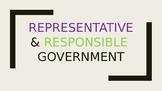 Representative and Representative Government