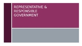 Representative and Responsible Government