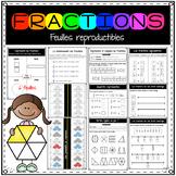 Représenter et comparer les fractions IMPRIMABLES / Fracti