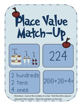 Representing 3-Digit Numbers - Place Value