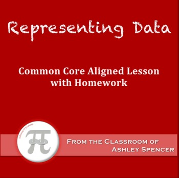 Representing Data (Lesson Plan with Homework)