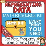 Representing Data Frequency Tables, Dot Plots, Stem & Leaf