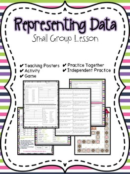 Representing Data Small Group Lesson