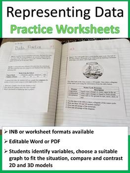 Representing Data Worksheet
