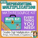 Representing Double Digit Multiplication Arrays and Area M