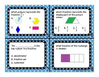 Representing Fraction Task Cards!