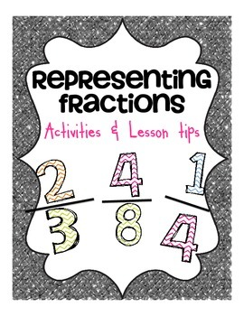 Representing Fractions Activities and Lesson Tips